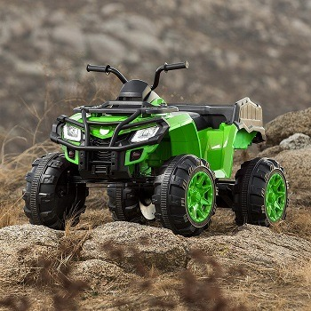 Power Wheels 4 Wheeler - 12Volt Battery Powered Four Wheeler